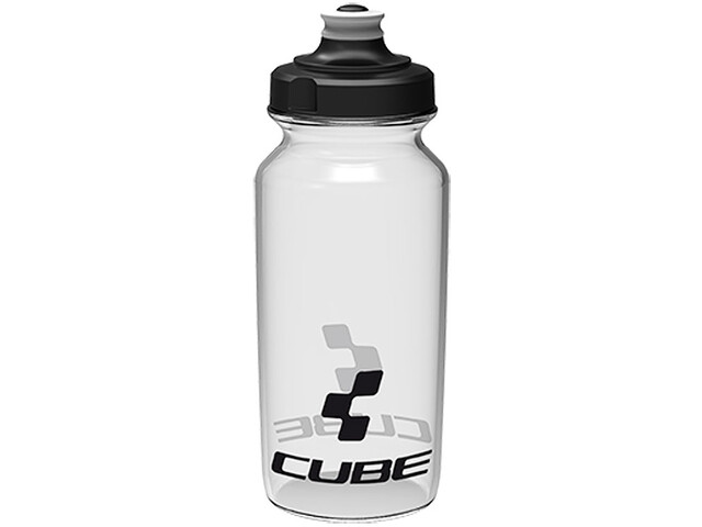 Cube Icon Trinkflasche 500ml transparent